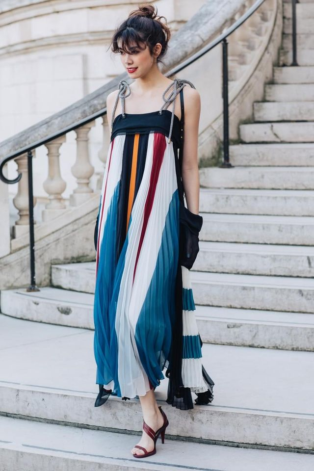 See the best looks seen by Sandra Semburg on the streets of Paris between the shows at Paris Fashion Week Fall/Winter 2017-2018.