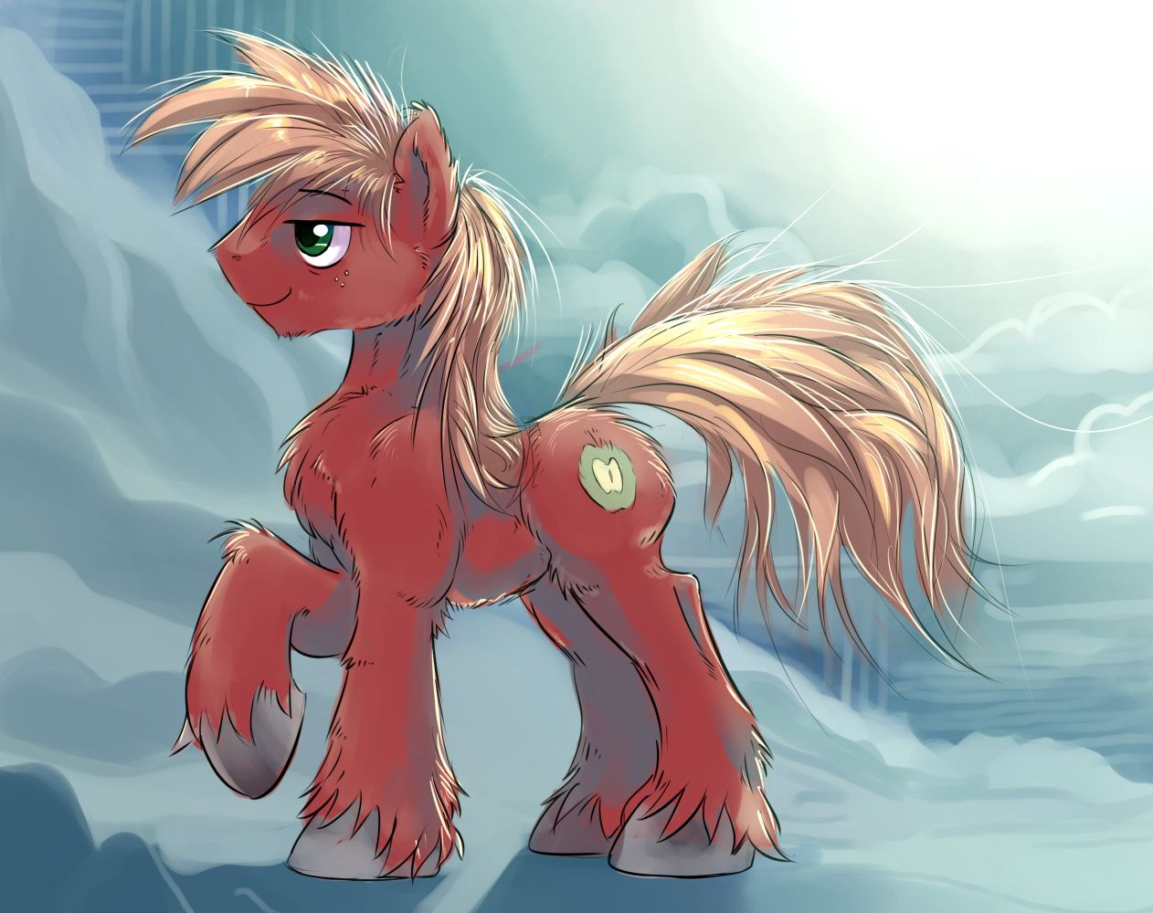 Fluffy Mac Experiment By Gspheredeviantartcom On At Deviantart My