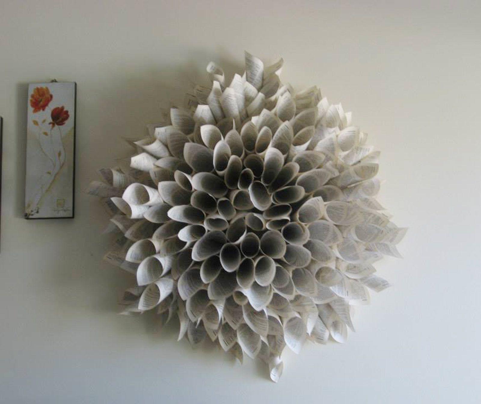 Ghirlanda di carta come cornice o decoro diy crafts pinterest craft - Petali finti ikea ...