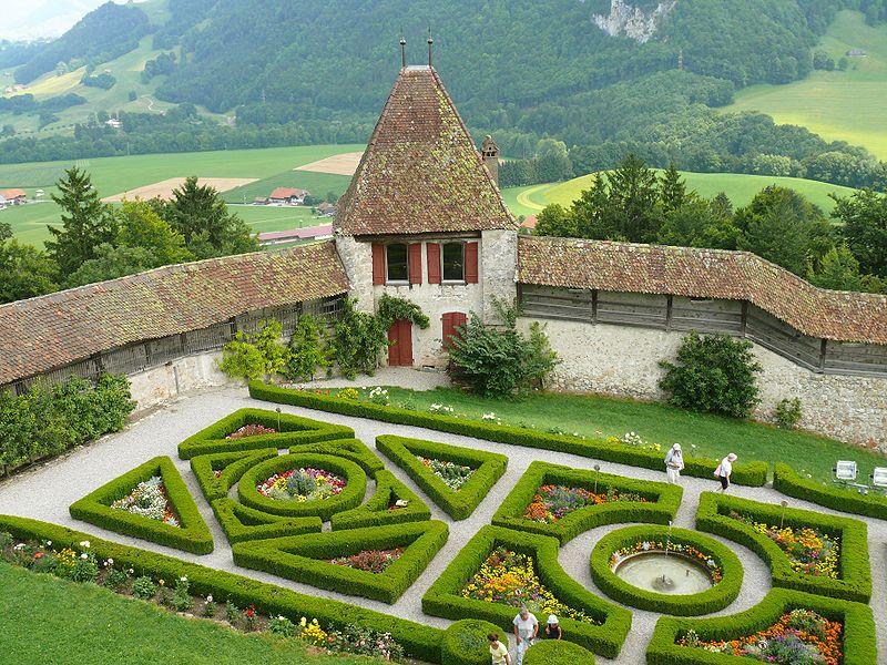 © Wikimédia Commons Cjeiler Jardins à la française du
