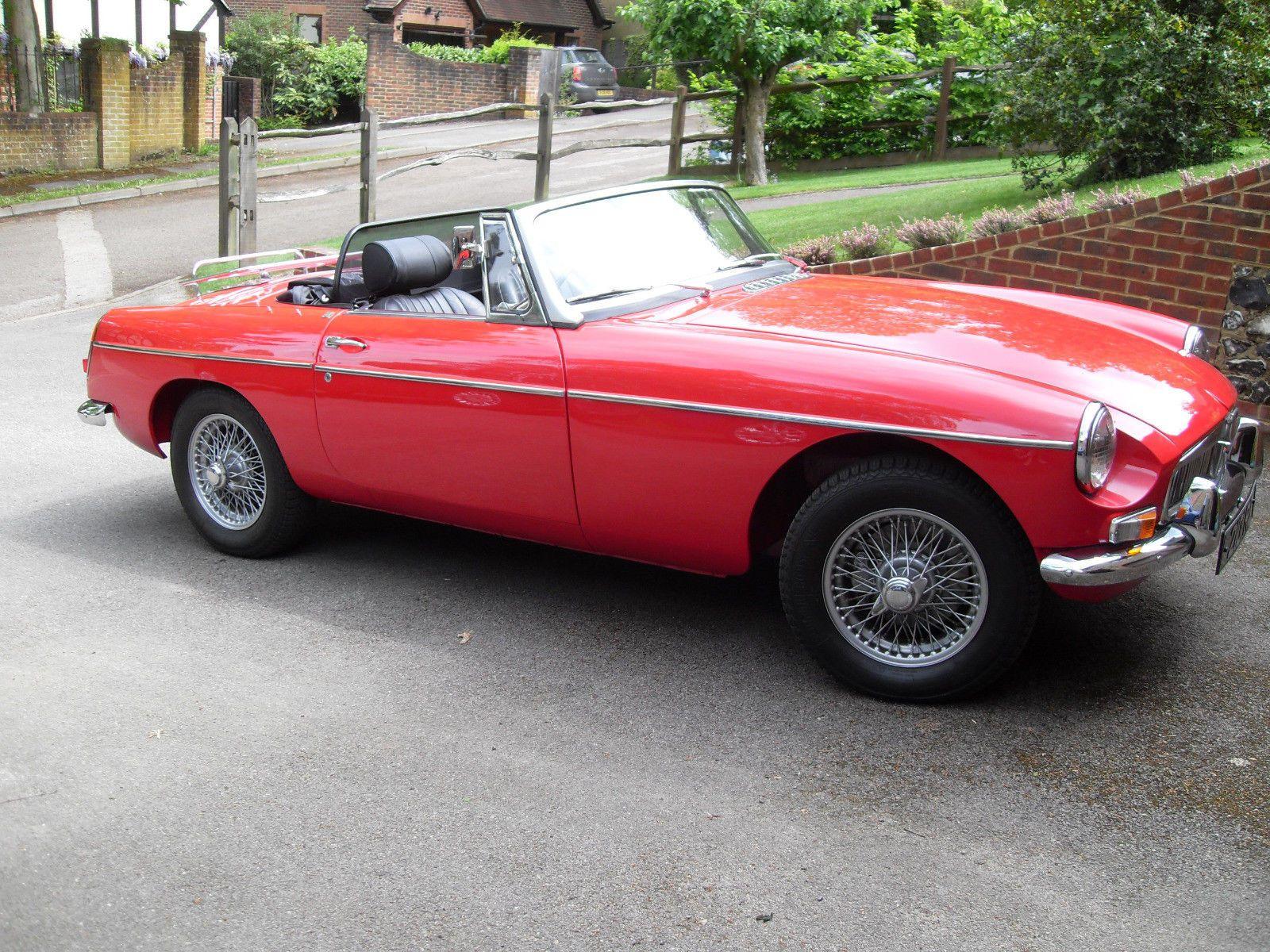 Ebay Mgb Roadster Mark 1 1964 Beautiful Car Red Stunning Cars 1960s Beautiful Cars Roadsters Car
