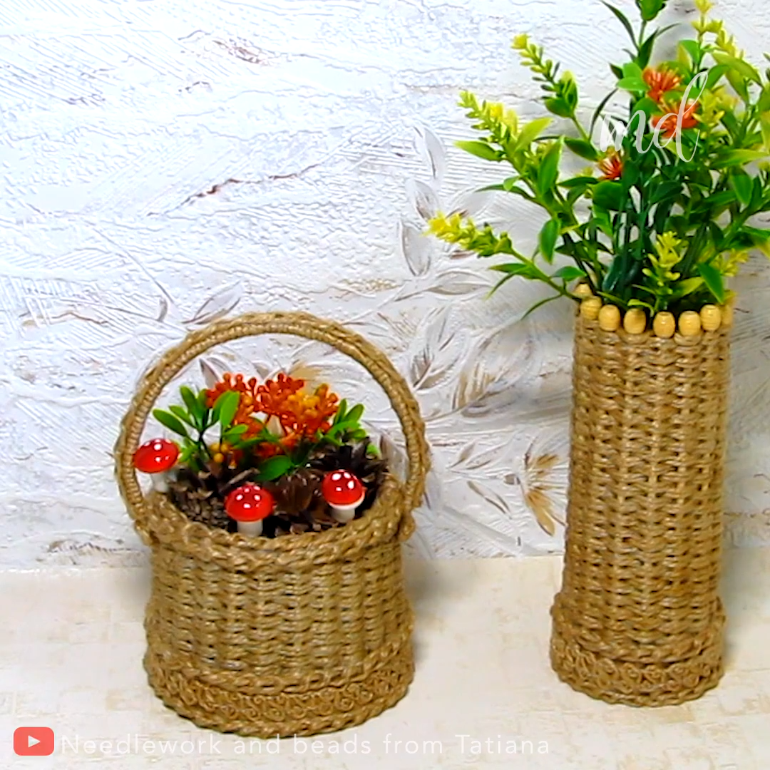 DIY VASE AND BASKET