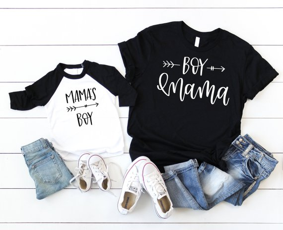 c30d11099597 Boy Mama, Mamas Boy Mommy and me Shirts Mama's Boy Outfit Mommy & Me  Outfits Momma's Boy Baby Showe