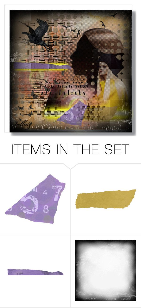 """""""It's all in your head!"""" by bellatz ❤ liked on Polyvore featuring art"""