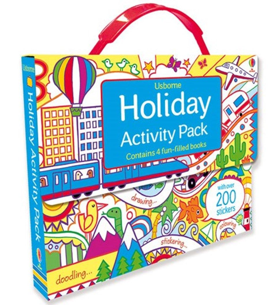 Holiday Activity Pack Activity Pack Holiday Activities Usborne