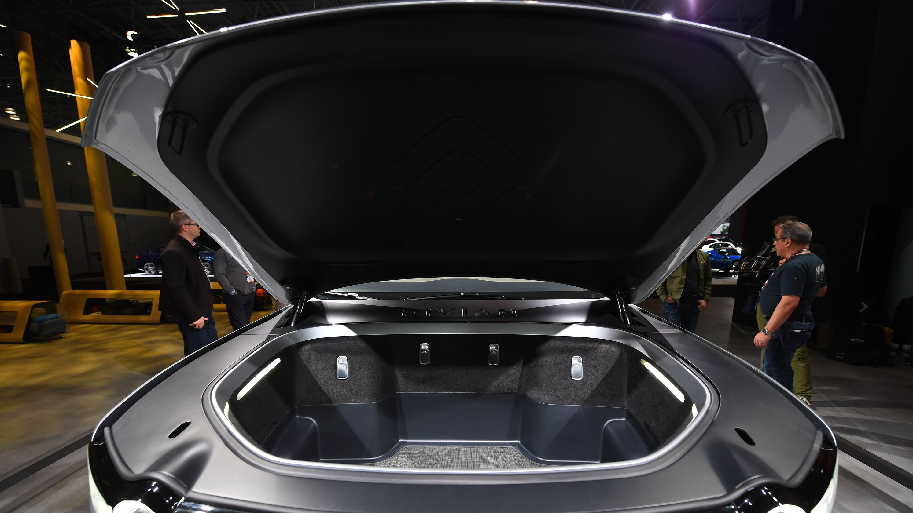 Electric Cars Like Rivian Jaguar Tesla Offer New Frunk Storage