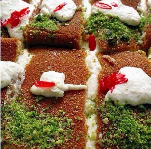 Arabic food recipes kanafeh recipe lebanese sweets and desserts arabic food recipes kanafeh recipe forumfinder Choice Image