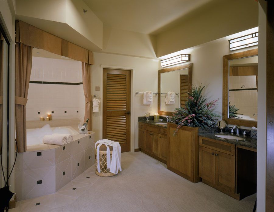 Images Photos Jacuzzi Tub in Master Bathroom at the Cancun Resort in Las Vegas NV
