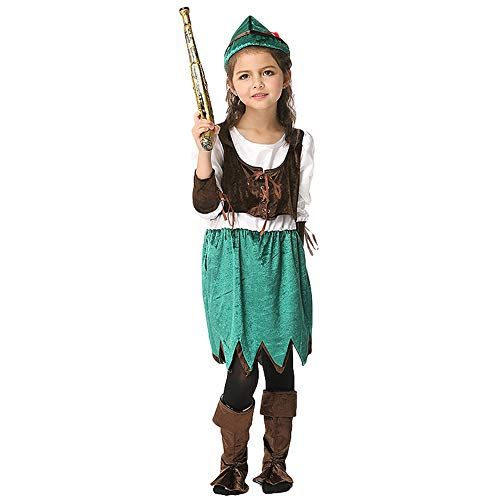 Halloween Costume 4 5.Lolanta Girls Pirate Halloween Costume Children Buccaneer Cosplay