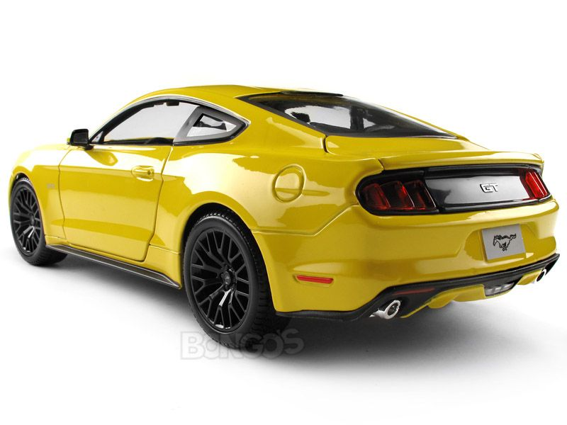 2015 Ford Mustang Gt 1 18 Scale Maisto Diecast Model Yellow Ford Mustang Gt Shelby Shelbygt500 Shelbygt350 Ford Mustang Ford Mustang Gt Custom Cars