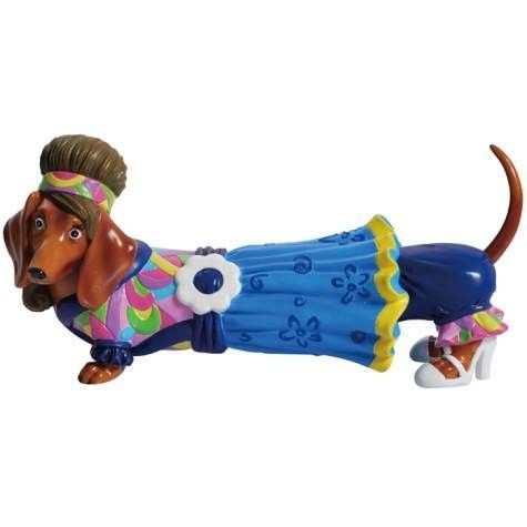 Angel Dachshund Figurine From Hot Diggity Collection Dachshund