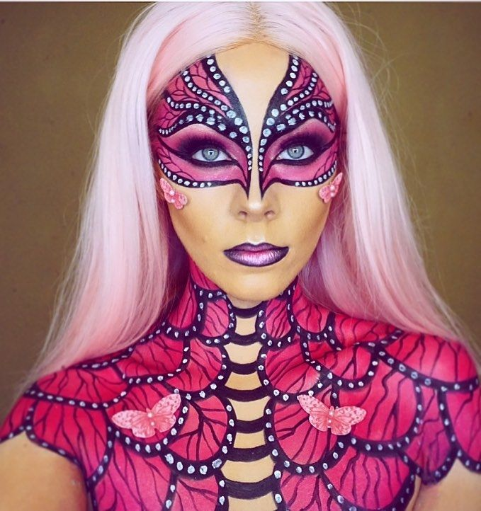 Fantasy Transformations For Halloween With Body Paint By Jade Deacon