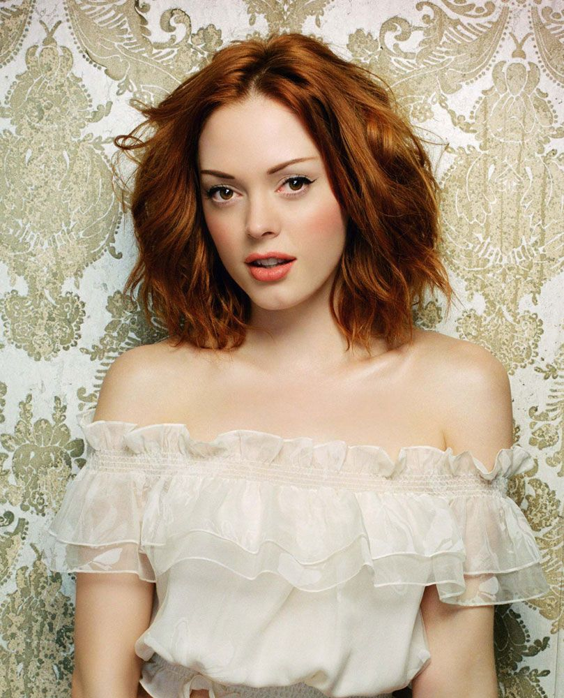 Rose Mcgowan, Red Heads And Rose