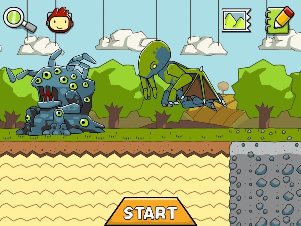 In Scribblenauts Remix, you can summon up the Elder Gods