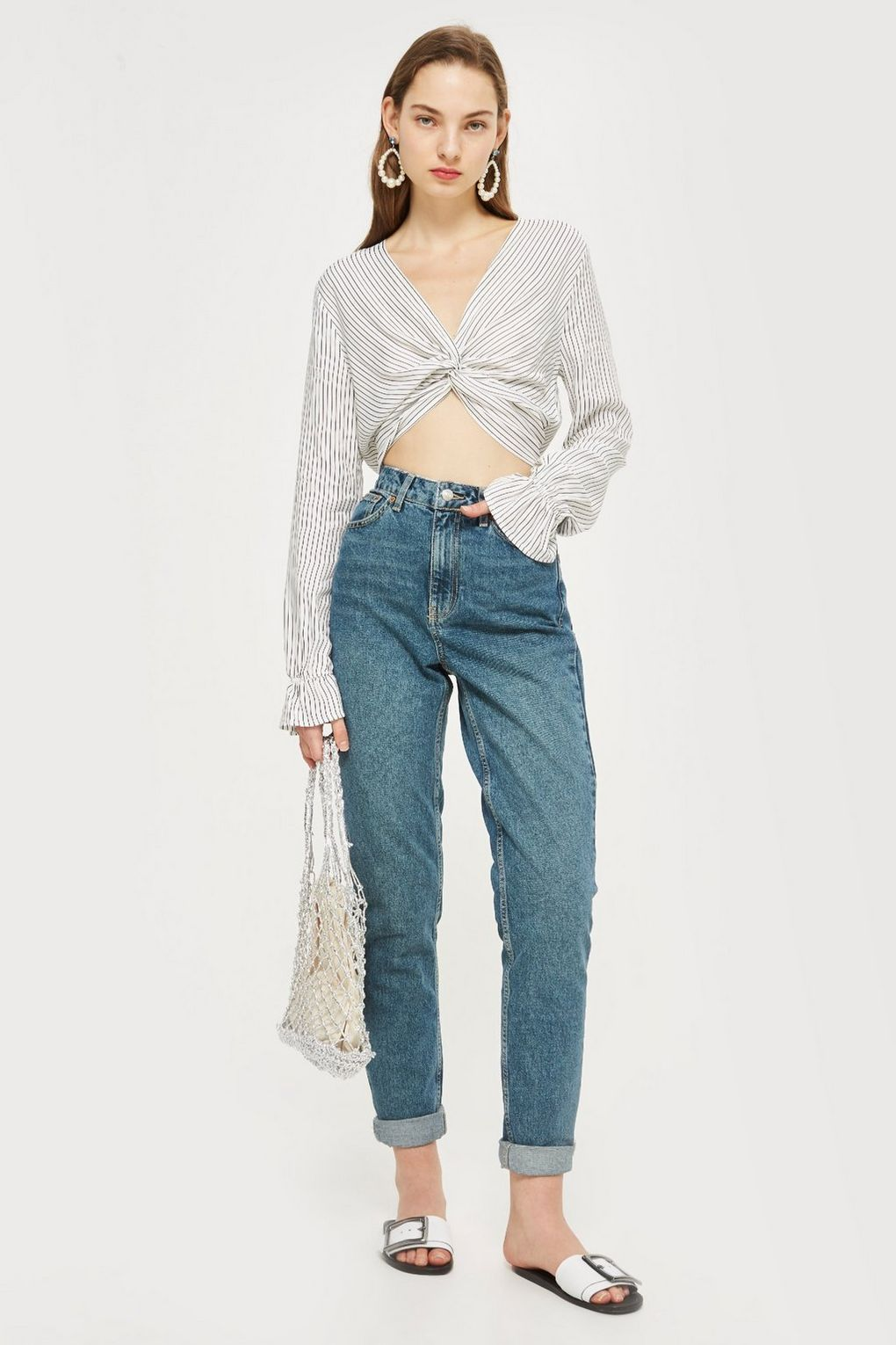 e53f03cef99 TALL Authentic Mom Jeans - Mom Jeans - Jeans - Topshop Singapore