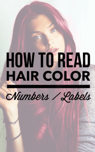 How To Read Hair Color Numbers And Letters ・ 2020 Ultimate Guide -   13 professional hair Tips ideas