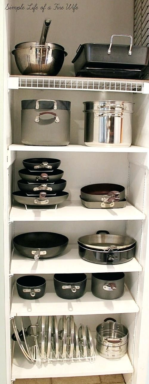 Organizing Kitchen Cabinets Pots And 35. #furniture #kitchen #decoration #decorate #livingroom #homeimprovement #patio #office #desk #table #chair #yoshihome