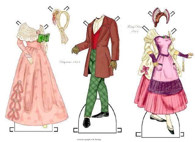 1840 Paper Dolls - Freewind Fairy - Álbumes web de Picasa