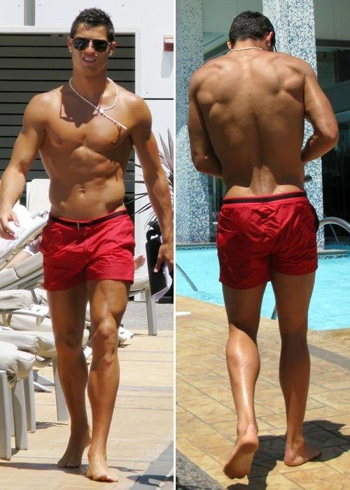 250d6a61f5 Cristiano Ronaldo Celebrity Photos, Swim Trunks, Swimming, Celebrities,  Swimwear, Fashion,