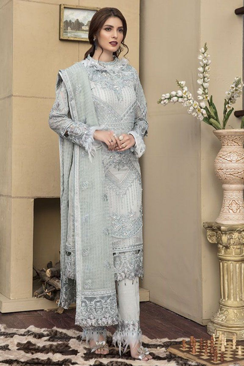 1478bc7df8 Crinkle Luxury Chiffon Collection By Motifs Embroidered 2143 in 2019 ...