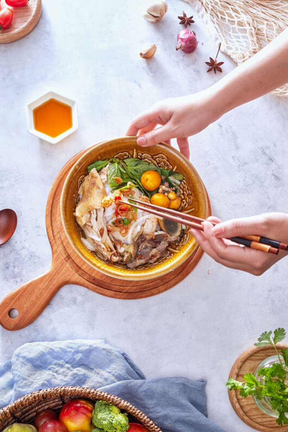 The exploration of food streets and the dandy Viet cuisine will be an un-pho-getable experience for you. #vietnamesefood #indonesia #malaysia #food  #travelblogger #vietnamtrip