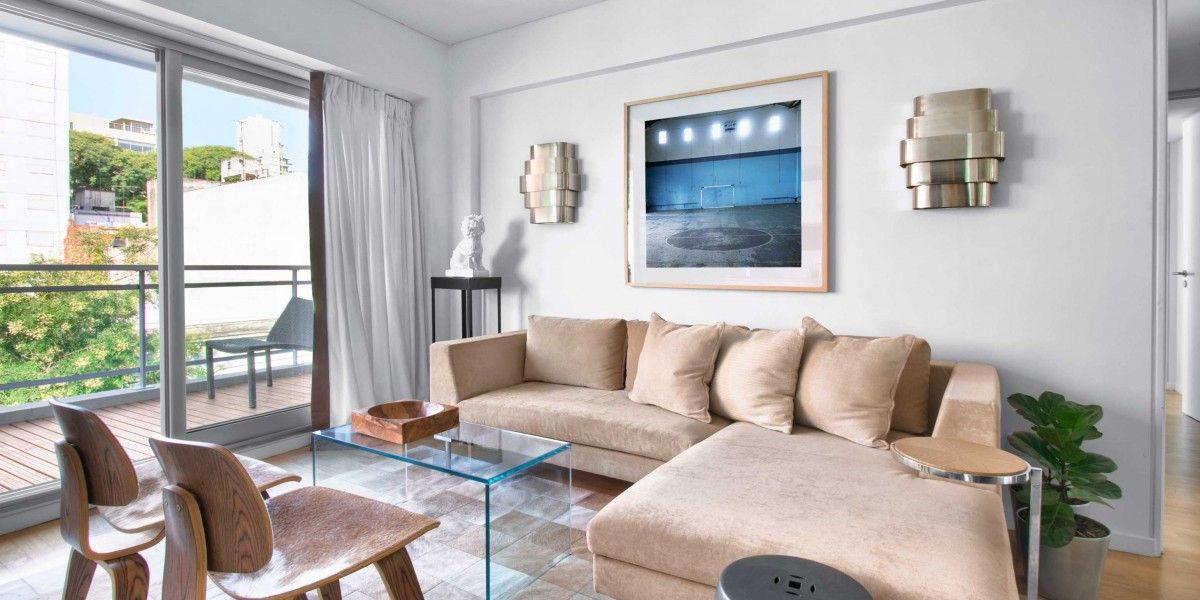 Soho Suites II Buenos Aires Argentina Furnished in earth tones