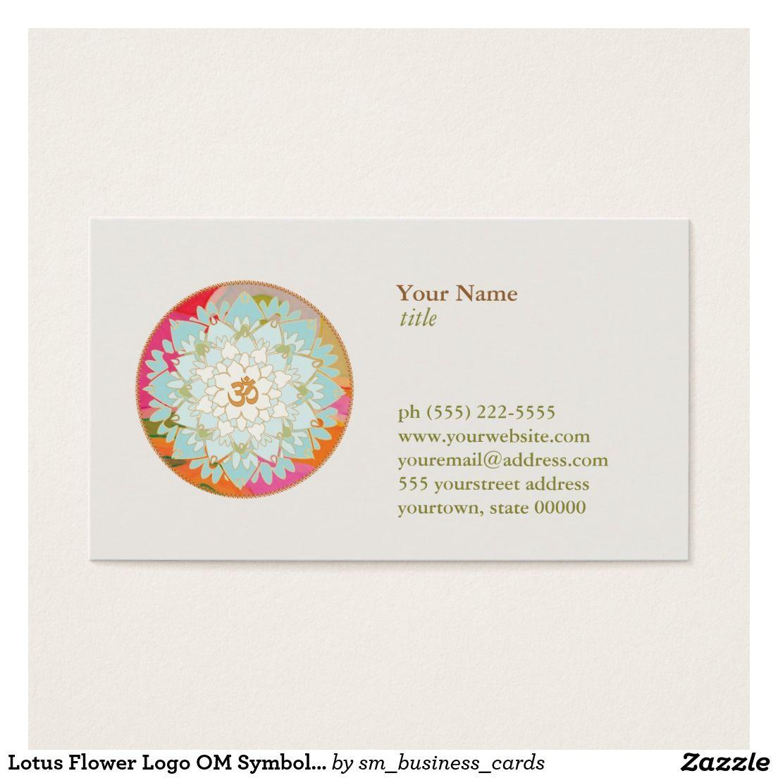 Sant Et De Symbole DOM Logo Fleur Cartes Visite