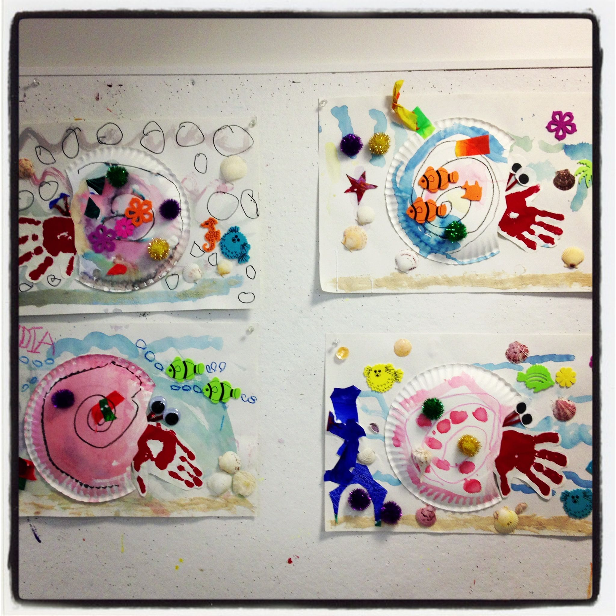 Eric Carle A Home For Hermit Crab Craft