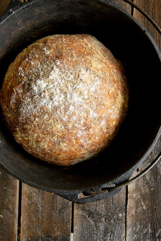 The NY Times No-Knead Bread | a kitchen cafe