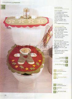 Como hacer Manualidades para Navidad: Juegos de baño