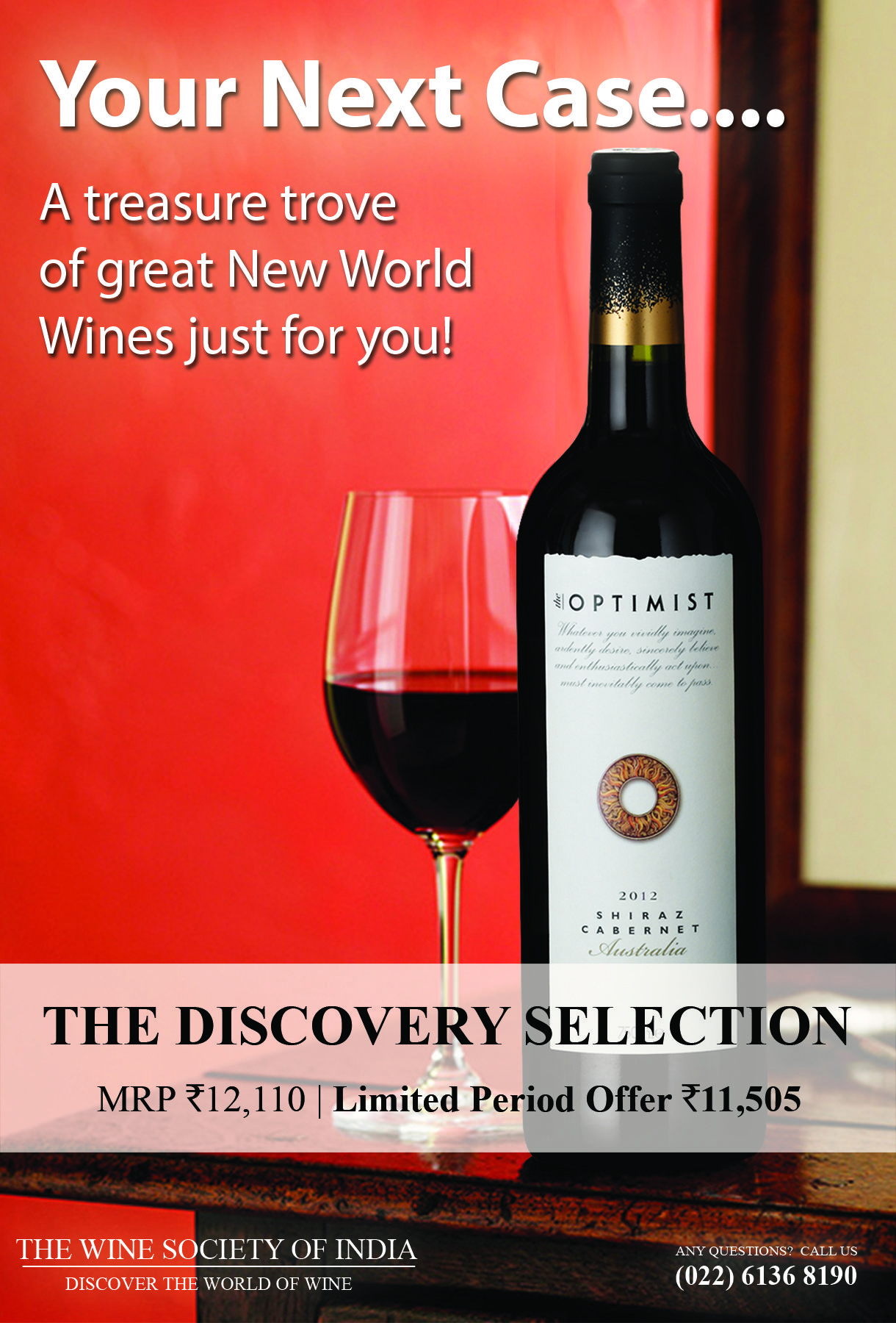Tasting Notes Print Cover Wine Society Wines Red Wine