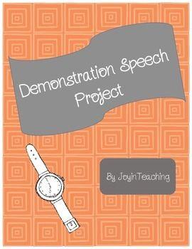 Demonstration Speech Outline
