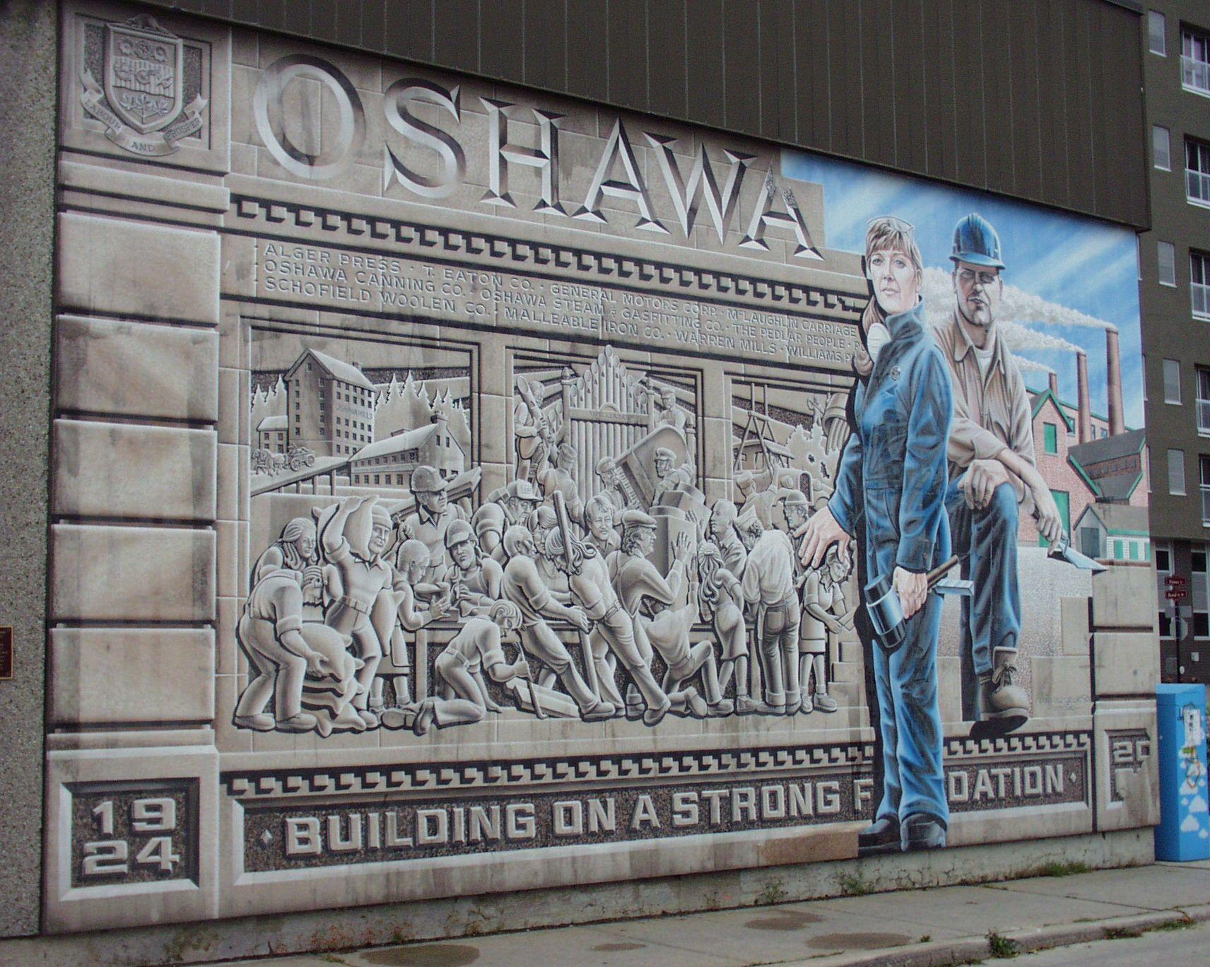 windfields farm wall mural in oshawa ontario murals graffiti wall mural in oshawa ontario