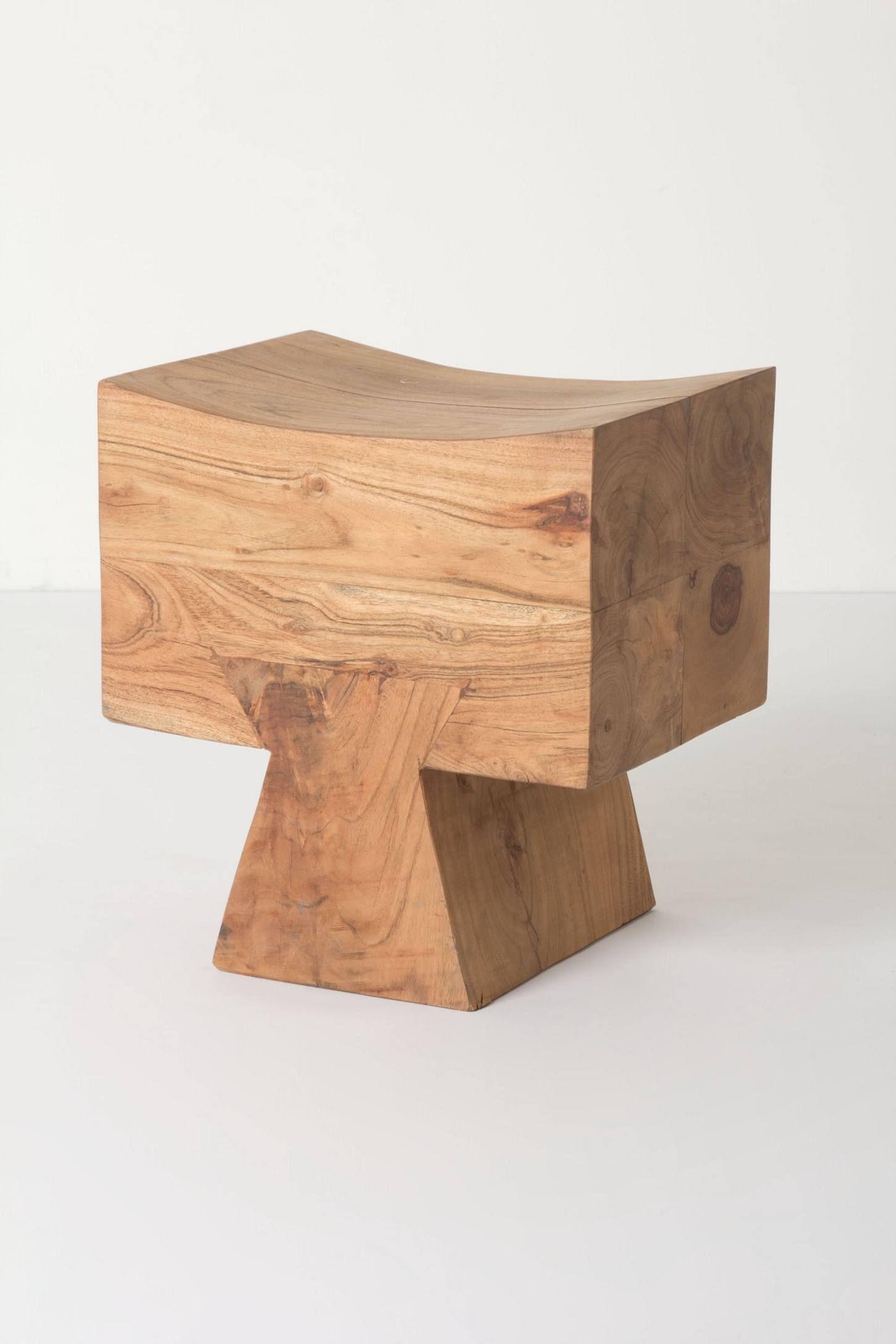 Tasman Tetrad Stool Anthropologie Eu Chair Wooden