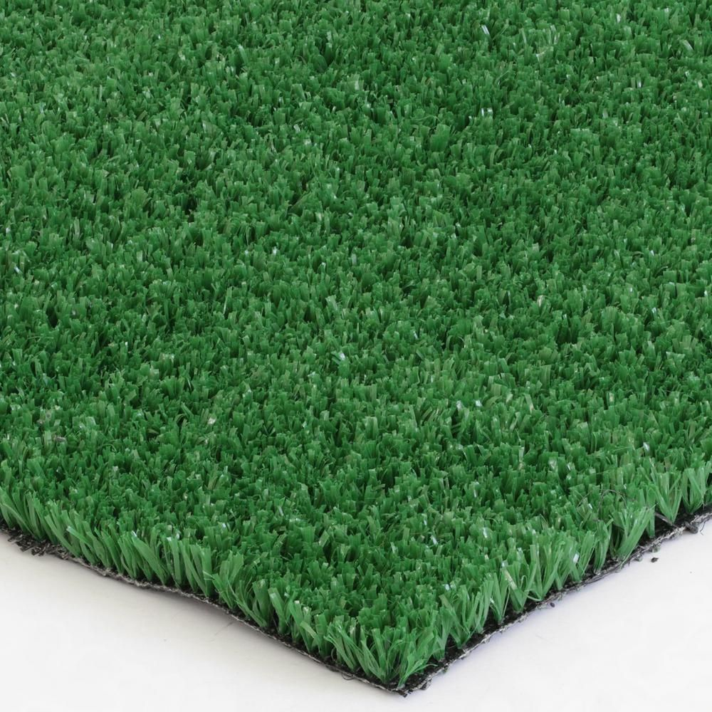 Trafficmaster Mainstream Ivy Artificial Grass 12 Ft Wide X Custom Length 002hd In 2020 Artificial Grass Carpet Grass Carpet Artificial Grass Rug