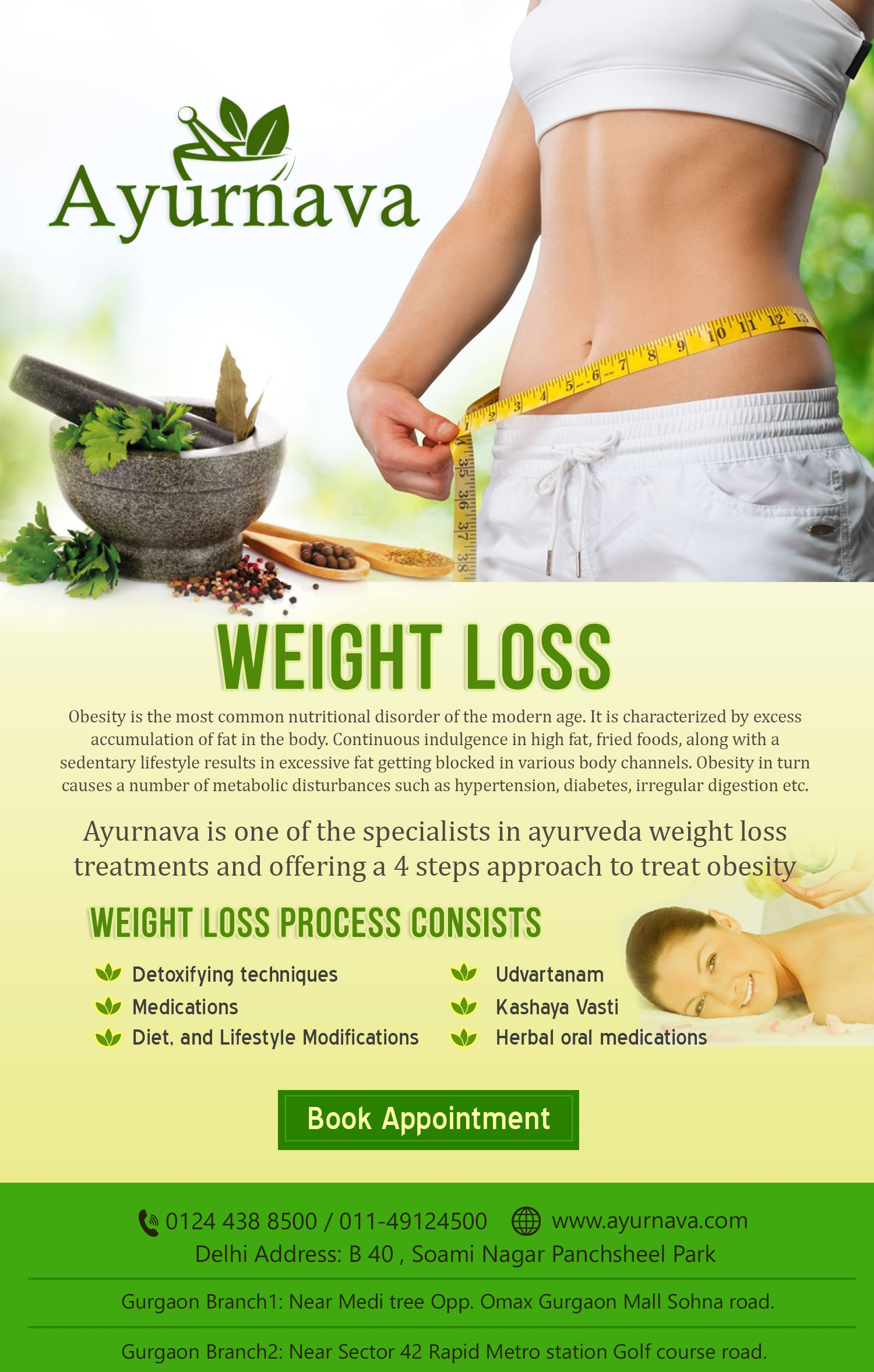 Ayurnnava is one of the Specialists in Ayurveda Weight loss