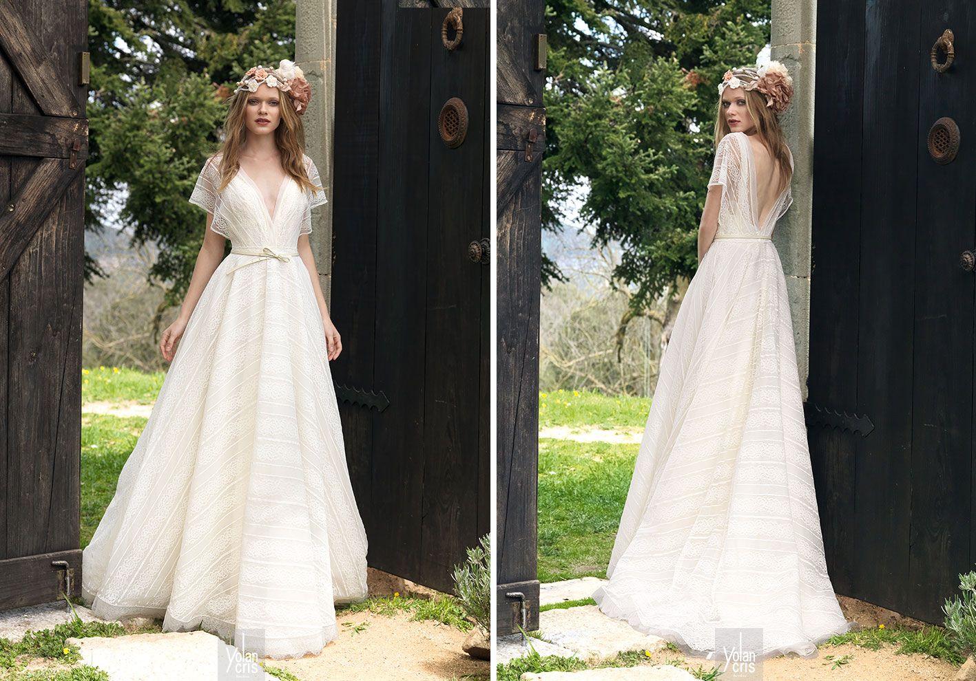 Yolancris bohemian wedding dresses outdoor weddings