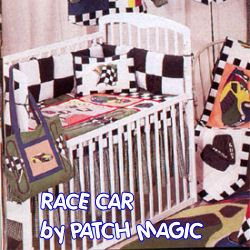Nascar Baby Crib Nursery Bedding Set Decor