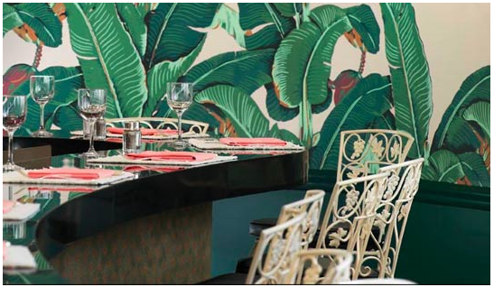 home decor ideas use tropical leaves.htm an ode to martinique wallpaper  with images  beverly hills hotel  beverly hills hotel