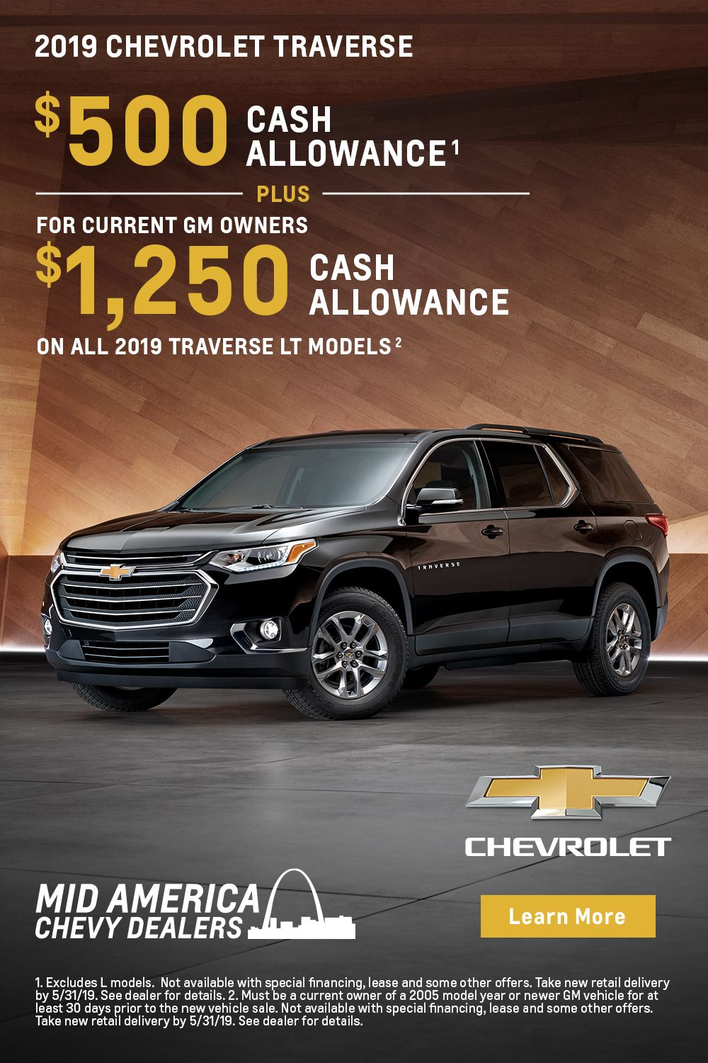 Shop now and visit your MidAmerica Chevy Dealers! Chevy