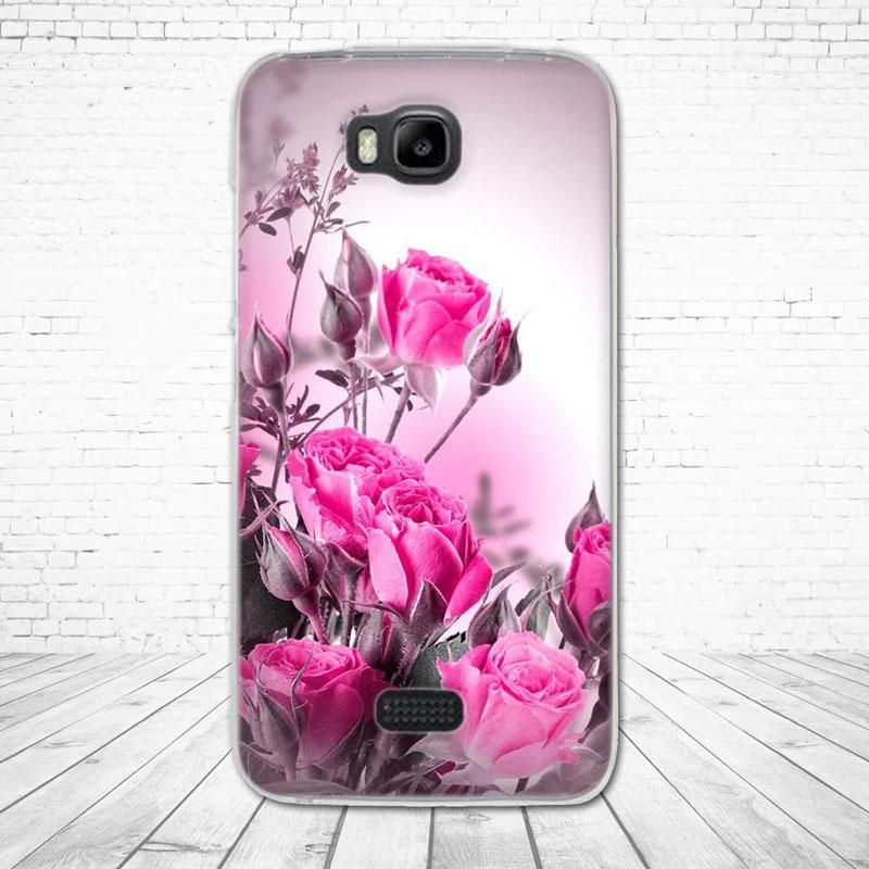 huge selection of 1a5a5 895cd Back Case For Huawei Y5C TPU Cover For Huawei Honor Bee Phone Cases ...