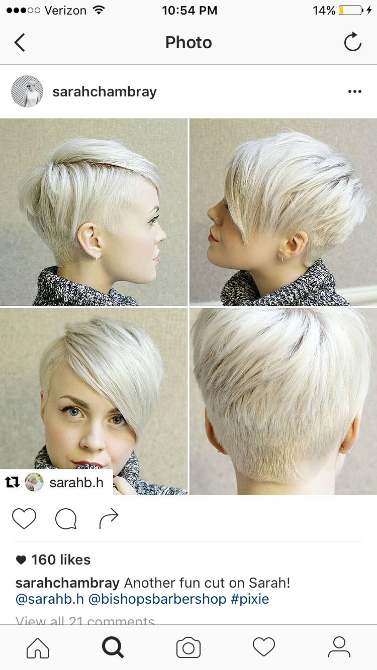 Pin by larizza bailey on pretty hair pinterest pixies short