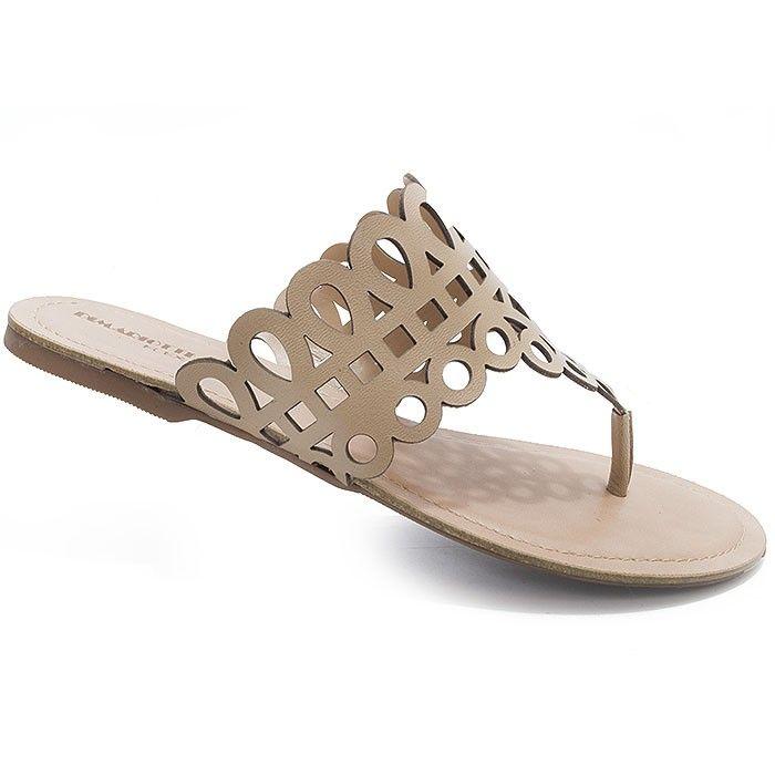 e75babfdac Sandalia Rasteira Di Mariotti Numeração Especial - 8137 Tan - Sapatos  Femininos