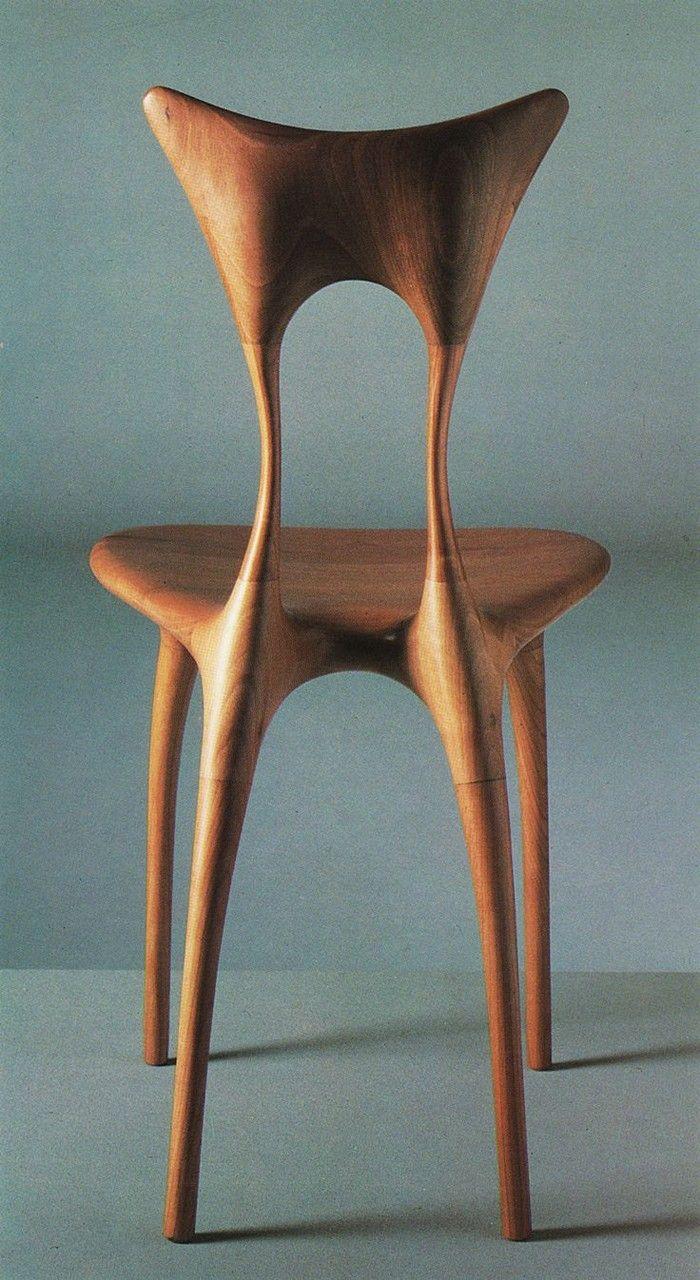 Wo die Holzkunst und das Möbeldesign ineinander verschmelzen ...
