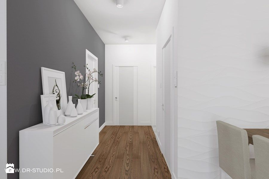 Aranzacje Wnetrz Hol X2f Przedpokoj Przedpokoj Szary Panele 3d Dr Studio Przegladaj Dodawaj I Zapisuj Najlepsze Zdjecia Pomys Home Home Decor Decor
