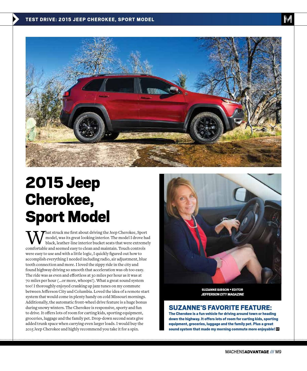November Machens Advantage With Images Sports Models Jeep Cherokee Sport Jeep Cherokee