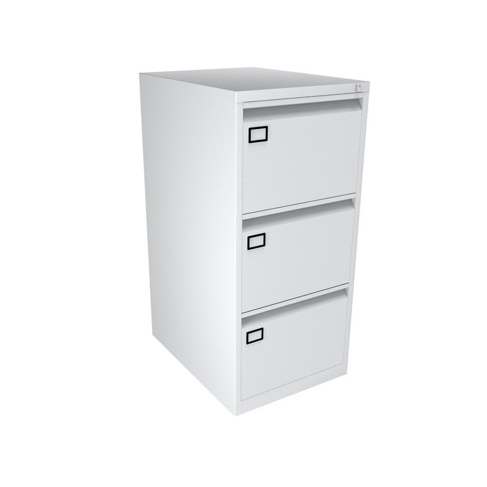3 Drawer Filing Cabinet Bisley Aoc Traffic White Next Day Delivery An