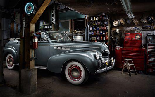 Website Light Painting Photography Light Painting Garage Lighting