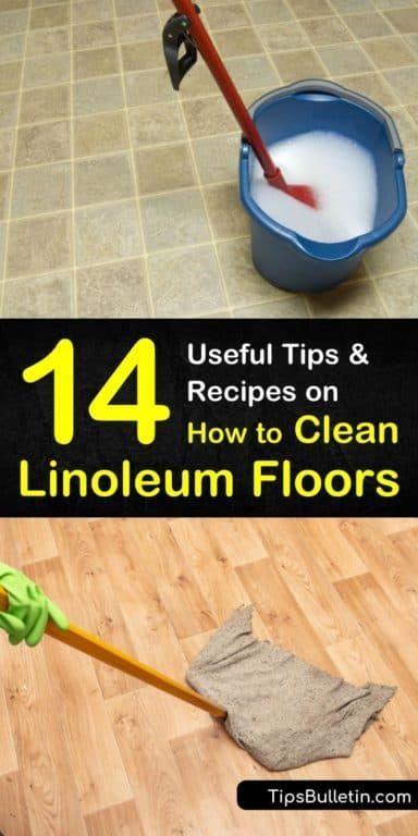 14 Creative Ways to Clean Linoleum Floors