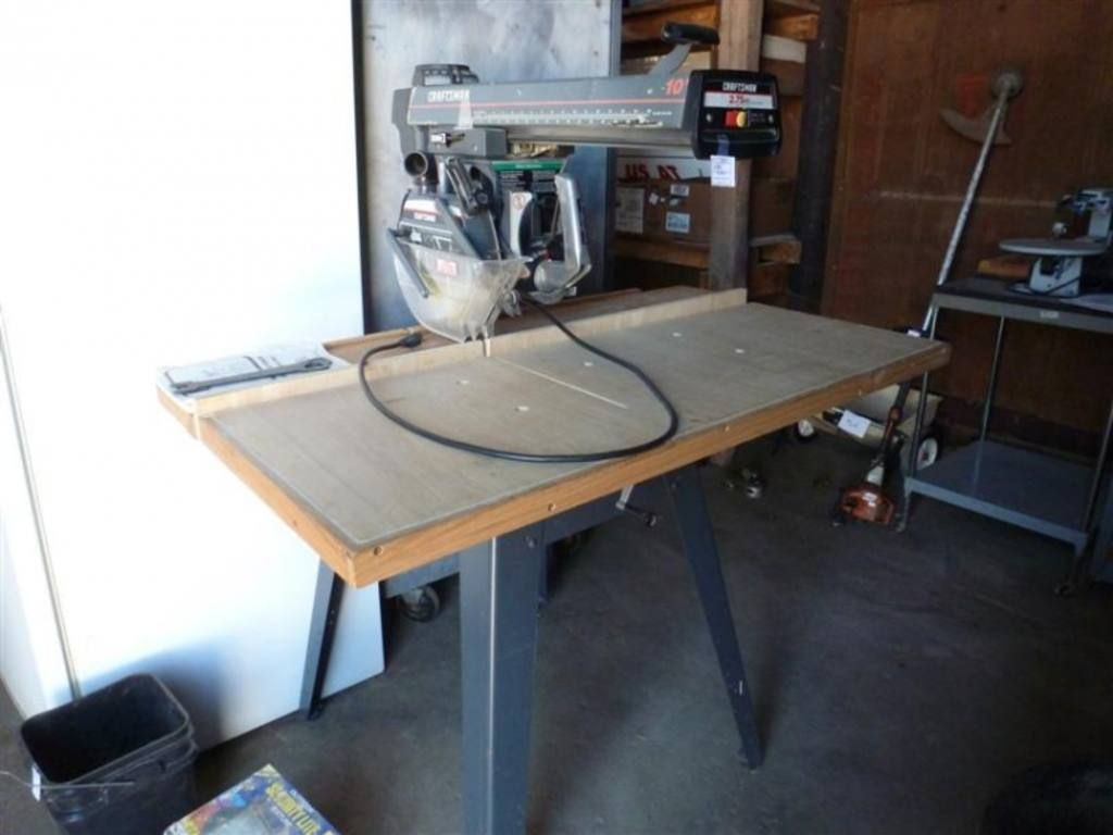 Check Out This Craftsman 2 75hp 10 Radial Arm Saw 10 Things Craftsman
